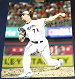 Josh Hader Signed Photo - All Star Game 8X10 COA INS - Autographed MLB Photos