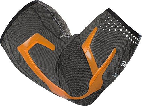 Org Elbows - DonJoy Performance Trizone Compression Sleeve Elbow Support Brace, X-Large - Orange