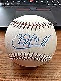 Chad Harville Autographed Baseball - OL ! Athletics Devil Rays! - Autographed Baseballs