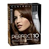 Clairol Perfect 10 By Nice 'N Easy Hair Color 6wn Light Chocolate Brown 1 Kit (Pack of 2)