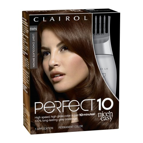 Amazon Com Clairol Perfect 10 By Nice N Easy Hair Color 6wn Light