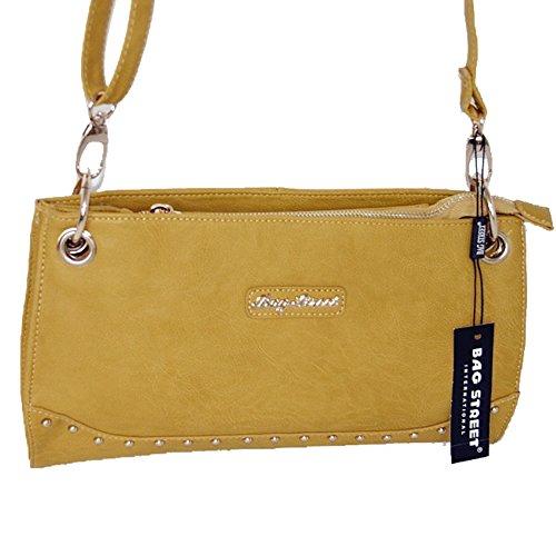 Borsa Street Bag Borsa A Tracolla Elegante Borsa A Tracolla Pochette Da Sera Borsa Shopper Gialla- Da Beauty-butterfly24
