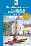 Kanu Kompakt Mecklenburgische Kleinseen 2: mit topografischen Wasserwanderkarten 1:75000