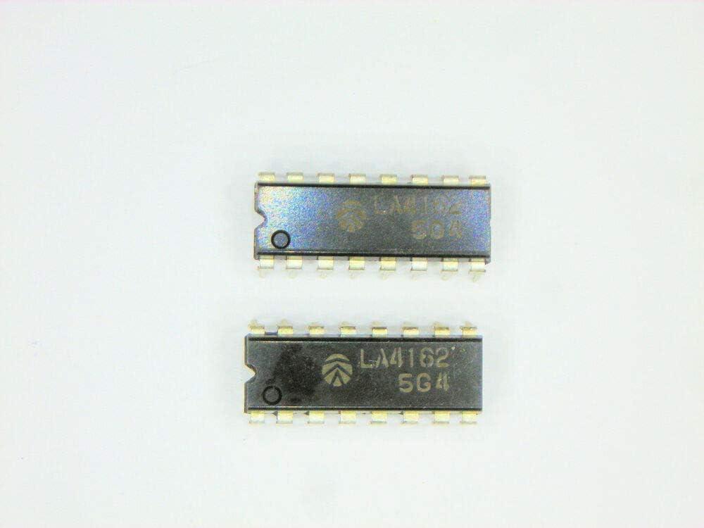 SANYO 16P DIP IC 2 pcs LA4162