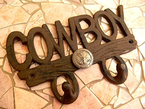 - Army Cowboy Wall Hook, Cast Iron US Army Men's Boys Room Home Decor, Rustic Wall Art