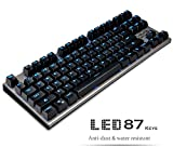 Mechanical Gaming Keyboard - Lolita Spyder 87 Blue light [Kailh Blue Switch]
