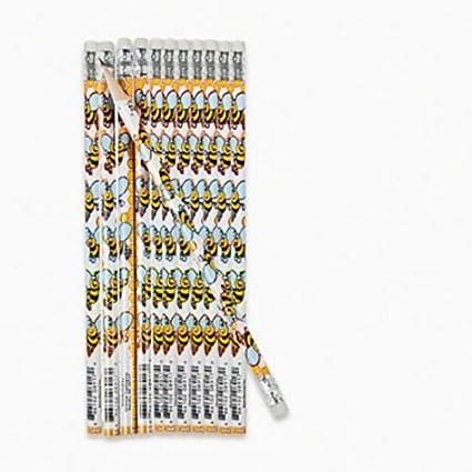 BEE Pencils Bulk 2 Dozen