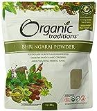 Organic Traditions Organic Powder, Bhringaraj, 7 Ounce (Pack of 12)