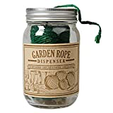 Green Garden Twine in a Jar Dispenser