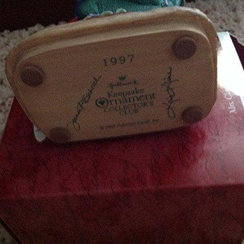 Mrs. Claus's Story 1997 Hallmark ornament -  1997 MINE mrs claus story1