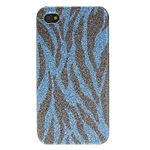 ZL Shimmering Zebra Print Pattern Hard Case for iPhone 4/4S (Assorted Colors) , Yellow
