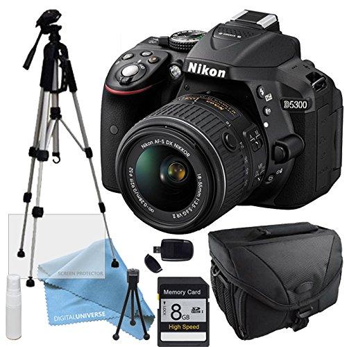 Nikon D5300 NIKKOR 18 55mm 3 5 5 6G