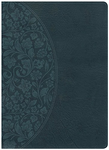 - Holman Study Bible: NKJV Large Print Edition Dark Teal LeatherTouch, Indexed