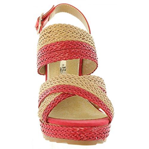 Maria Mare Sandalen für Damen 66794 C31123 Braided Rojo