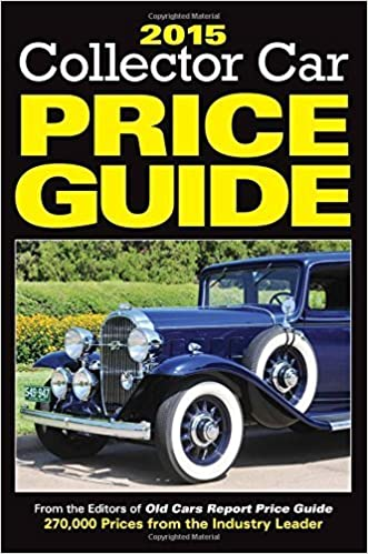 Classic Car Price Guide >> 2015 Collector Car Price Guide By Editors Of Old Cars Report