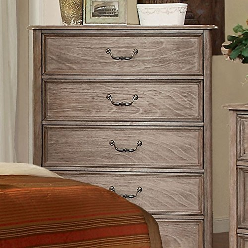 247SHOPATHOME IDF-7611C Drawer, Chest, Oak