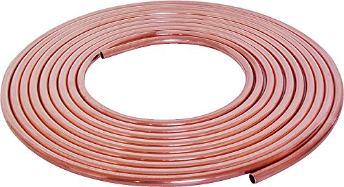 Mueller Industries LS03060 Copper Tubing, Type L, Soft, 3/8'' Id x 60' by Mueller