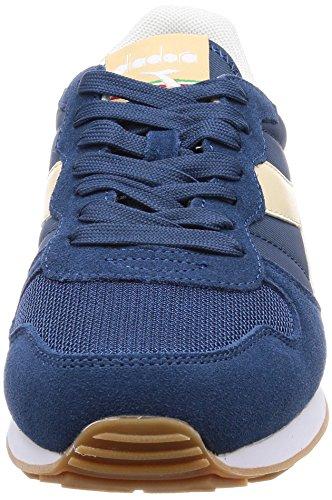 Beige Homme Sco Sneakers Camaro Bl Noir Candeggiato Diadora Denim Basses qC1Z8ww