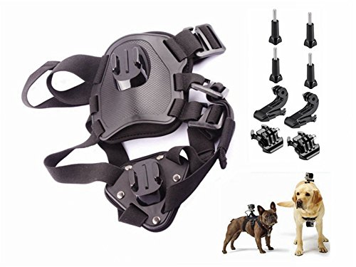 WZT Hound Dog Fetch Harness Chest Strap Belt Mount for GOPRO HERO6/5/5 Session/4 Session/4/3+/3/2/3, Xiaoyi and Other Action Cameras by WZT