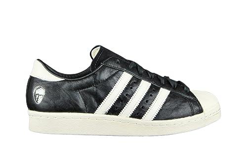 adidas Adi Dassler X Superstar 80s Consorcio 10th Aniversario - Entrenador de Negro/Blanco: Amazon.es: Zapatos y complementos