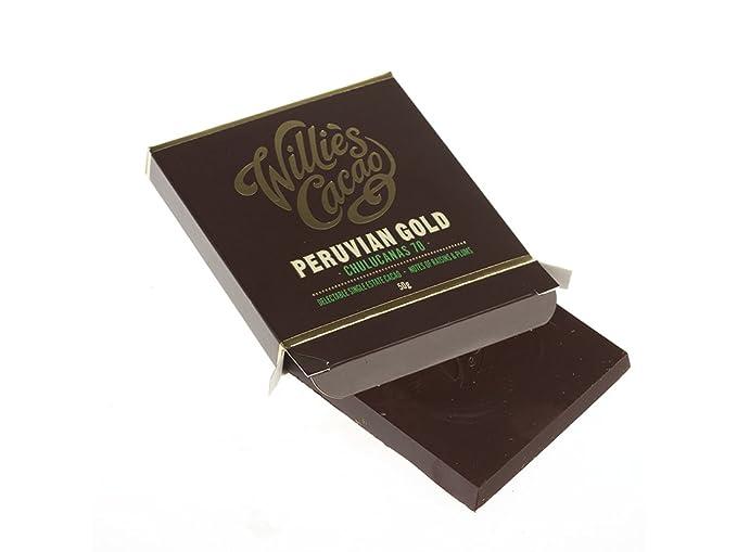 Willies Cacao Peruvian Gold - Chulucanas 70% - Nota de pasas y ciruelas ...