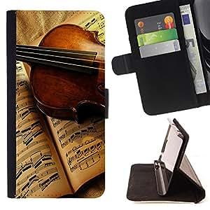 Dragon Case - FOR Sony Xperia Z1 Compact D5503 - Music light life - Caja de la carpeta del caso en folio de cuero del tir¨®n de la cubierta protectora Shell