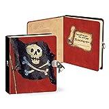 Peaceable Kingdom Pirate Lock & Key Diary
