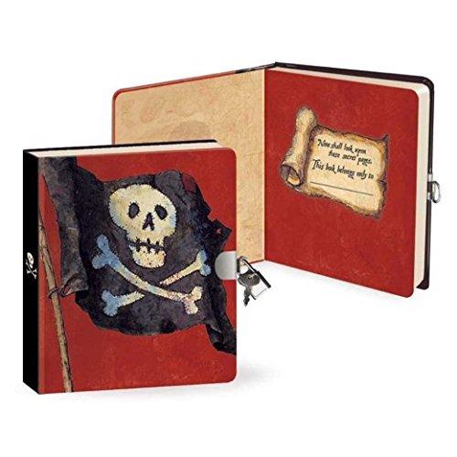 Pirate Lock & Key Diary (Key Diary Boys Lock And)
