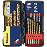 Bosch TI21 Titanium Drill Bit Set, 21-Piece