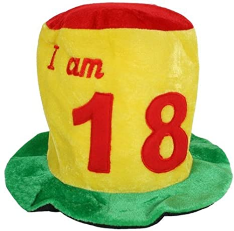 Birthday Party Hat 18th By Creative