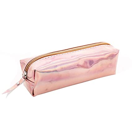 Gysad Estuche Brillo metalico Pencil case Con cremallera Estuches ...