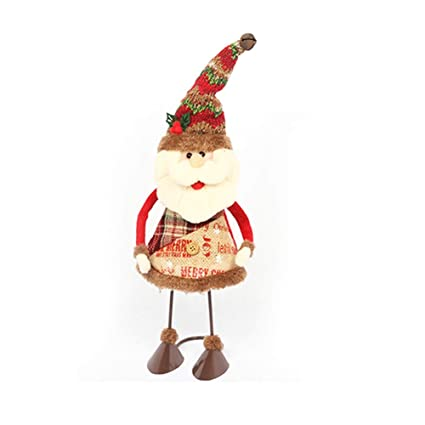 1dce04a9aa425 Cupcinu Swing Christmas Ornaments Tabletop Decoration Festival Props  Snowman Santa Claus Doll Brings a Festive Atmosphere