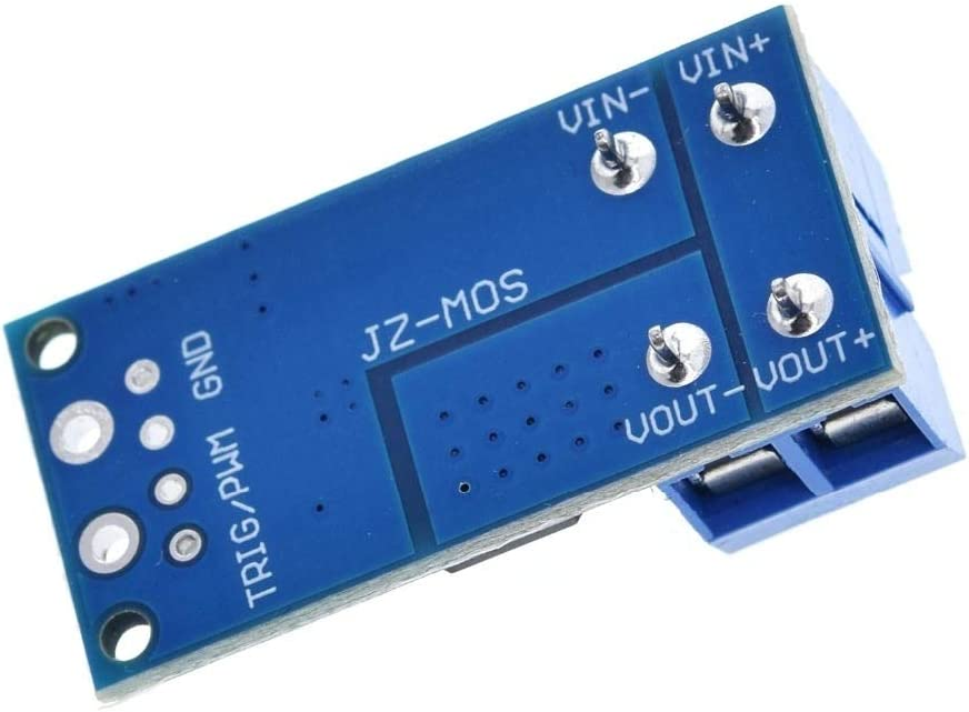 15A 400W INTERRUTTORE MOS FET Trigger Drive Modulo Regolatore PWM pannello di controllo-Regno Unito
