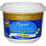 Spectrum Organic All Vegetable Shortening, 24 Ounce -- 12 per case.