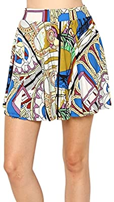 ToBeInStyle Women's Flared Mini Skirt