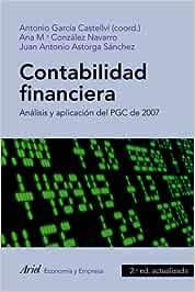 Contabilidad financiera: Análisis y aplicación del PGC de 2007 ...