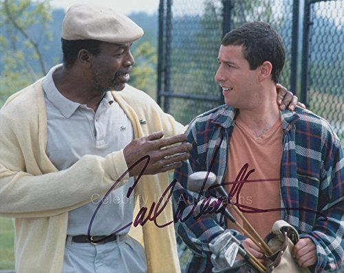 CARL WEATHERS as Chubbs – Happy Gilmour GENUINE AUTOGRAPH