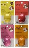 Eos Organic Smooth Sphere Lip Balm - 4 pack