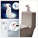 HotOne DZ-1 Infrared Automatic Sensing Flusher for top mounted fluser Toilet be a smart toilet in minute(ChongBao Pack)