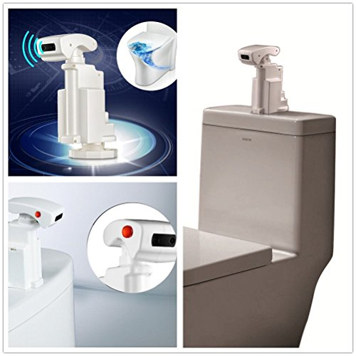 HotOne DZ-1 Infrared Automatic Sensing Flusher for top mounted fluser Toilet be a smart toilet in minute(Amazon exclusive)