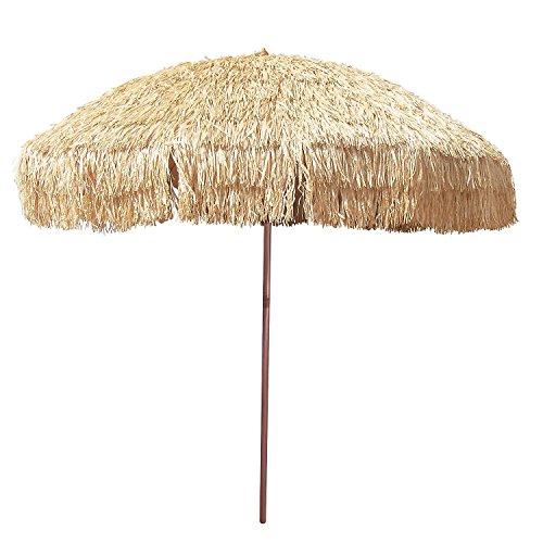 Thatch Patio Tiki Umbrella Tropical Palapa Raffia Tiki Hut Hawaii Hula Umbrella (Palapa Patio Umbrella)