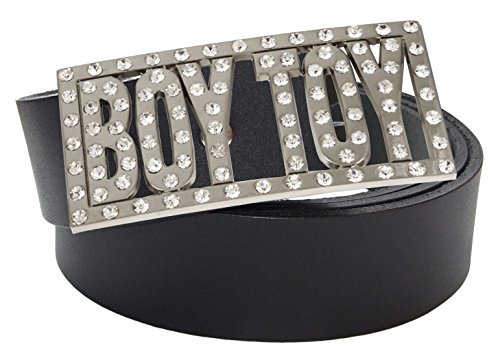 Rhinestone Boy Toy Belt Buckle