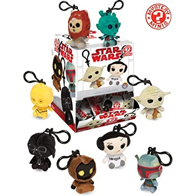 Funko Star Wars Mystery Minis Plush Keychains Classic Mystery Pack: Toys & Games