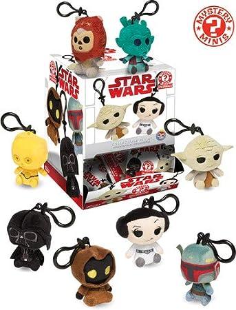 Peluche Llavero Star Wars Classic Surtido: Amazon.es ...