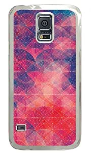 Cool Red Best Custom Samsung Galaxy S5 Case Back Cover, Snap-on Shell Case Polycarbonate PC Plastic Hard Case Transparent hjbrhga1544