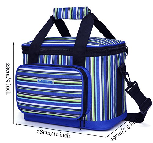 MIER 16 Can Large Insulated Lunch Bag for Women, Soft Leakproof Liner