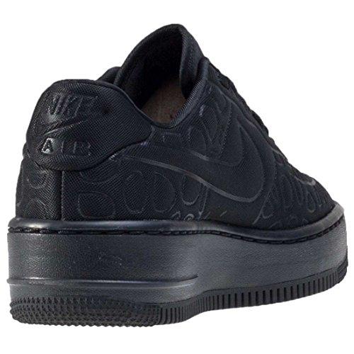 Nike W Af1 Upstep Se, Zapatillas de Baloncesto para Mujer Negro (Negro (black/black-white))