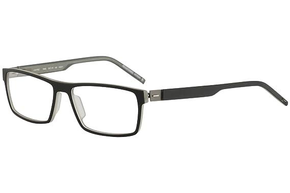 Amazon.com: Morel Eyeglasses Lightec 7689L 7689/L NG011 Black Full ...