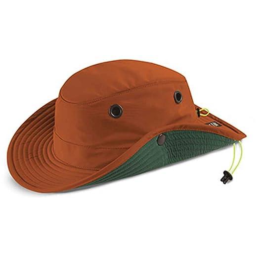 93dfa841 Amazon.com: Tilley TWS1 Paddlers Hat Orange 7: Clothing
