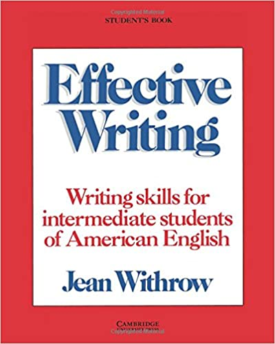 Amazon effective writing students book writing skills for amazon effective writing students book writing skills for intermediate students of american english 9780521316088 jean withrow books fandeluxe Gallery
